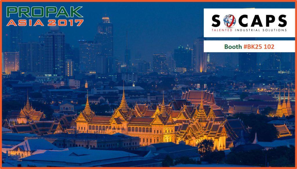 SOCAPS à Propak Asia 2017