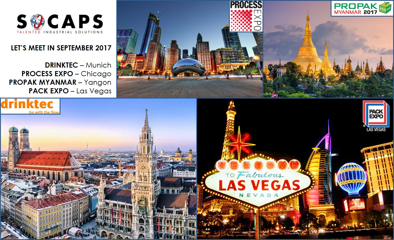 Salons septembre 2017 socaps - Salon paris septembre 2017 ...